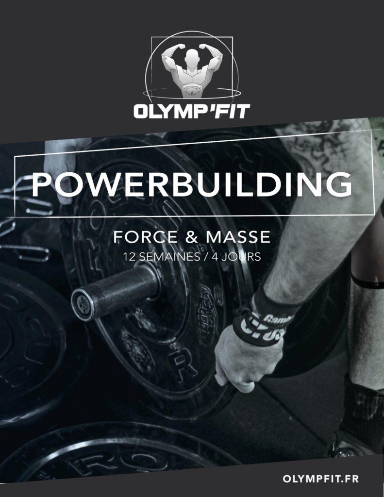 Powerbuilding Force et Masse
